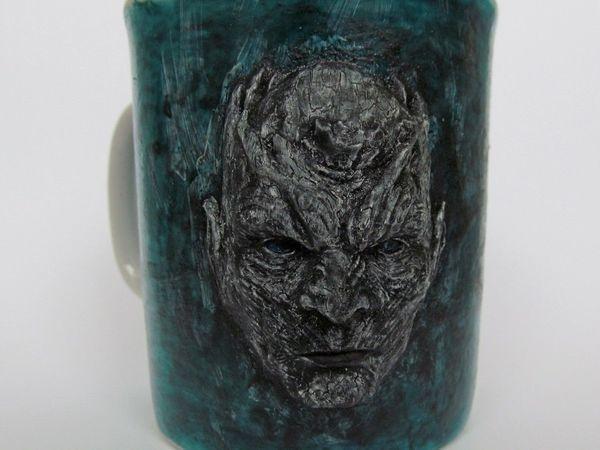 Лепим и декорируем на чашке барельеф «Король Ночи» | Ярмарка Мастеров - ручная работа, handmade