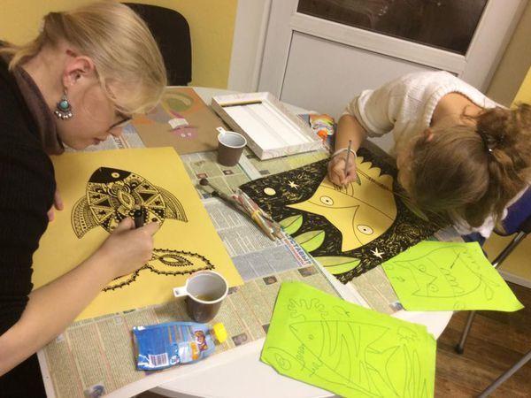 Рисуем с Марией Пожарской. Вместе с детьми) | Ярмарка Мастеров - ручная работа, handmade