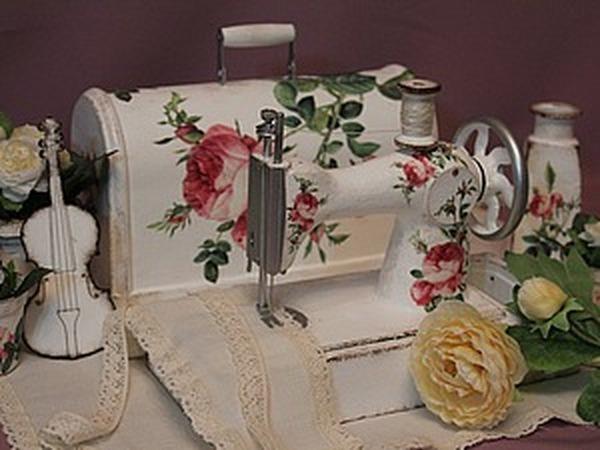 Реставрируем и декорируем детскую швейную машинку времен СССР | Ярмарка Мастеров - ручная работа, handmade