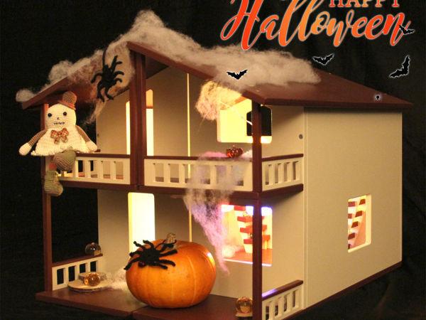 Хэллоуин в кукольном домике   Ярмарка Мастеров - ручная работа, handmade