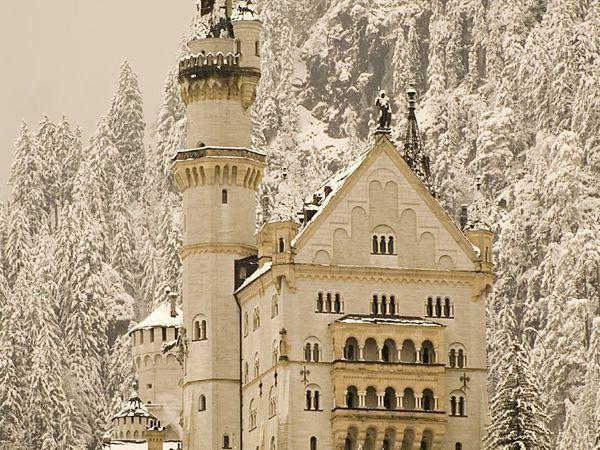 Neuschwanstein — сказочный замок Спящей красавицы | Ярмарка Мастеров - ручная работа, handmade
