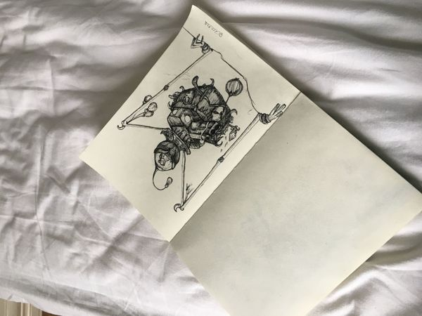 Inktober, день четырнадцатый | Ярмарка Мастеров - ручная работа, handmade