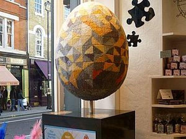 Охота за пасхальными яйцами в Лондоне | Ярмарка Мастеров - ручная работа, handmade