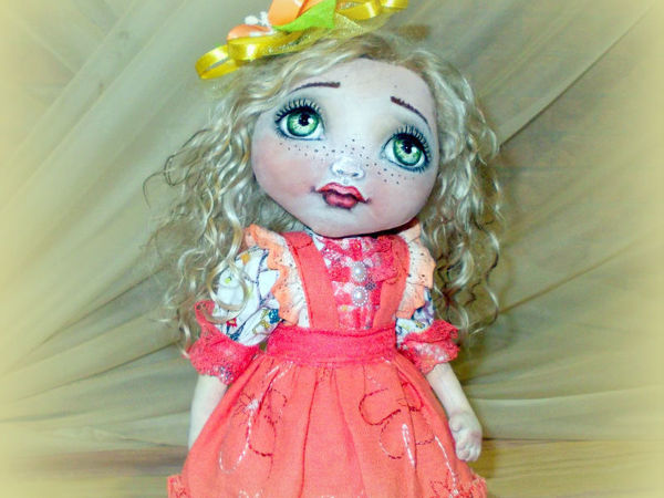 Кукла Сонечка   Ярмарка Мастеров - ручная работа, handmade