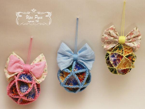 Новогодние шары «Из детства» | Ярмарка Мастеров - ручная работа, handmade