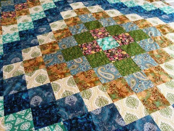Как рассчитать расход ткани на лоскутное одеяло | Ярмарка Мастеров - ручная работа, handmade