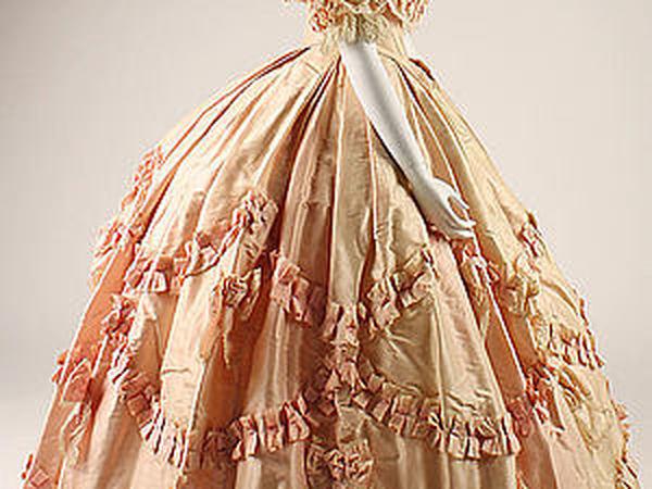 Бальные платья XIX века   Ярмарка Мастеров - ручная работа, handmade