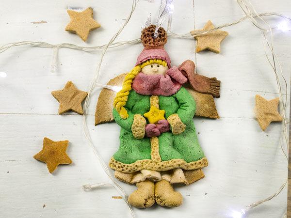 Лепим ангела из соленого теста | Ярмарка Мастеров - ручная работа, handmade