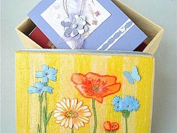 Мастер класс:  «Card-box или В чем хранить открытки?» | Ярмарка Мастеров - ручная работа, handmade
