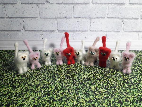 Кошки для ваших кукол (миниатюра)   Ярмарка Мастеров - ручная работа, handmade