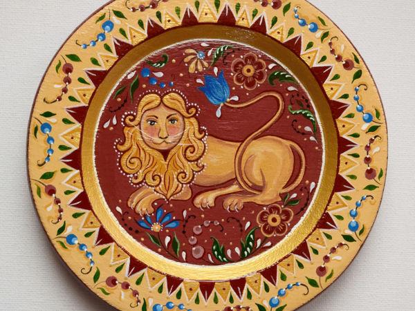 Мифологические образы в русском декоративно-прикладном искусстве. Часть 1 — лев | Ярмарка Мастеров - ручная работа, handmade