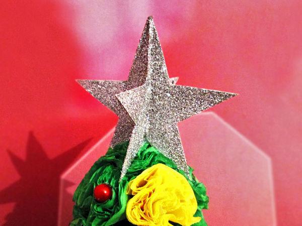 Видео мастер-класс: новогодняя звезда за 5 минут | Ярмарка Мастеров - ручная работа, handmade