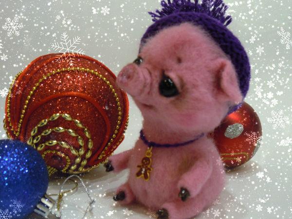 Учимся валять свинку Флуфи   Ярмарка Мастеров - ручная работа, handmade