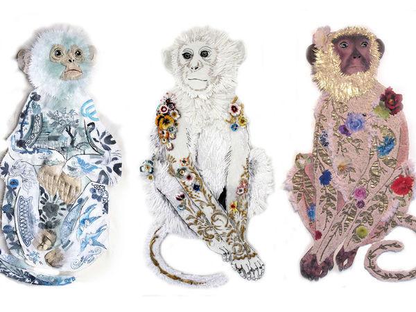 Karen Nicol и вышитый мир ее необычайных животных | Ярмарка Мастеров - ручная работа, handmade