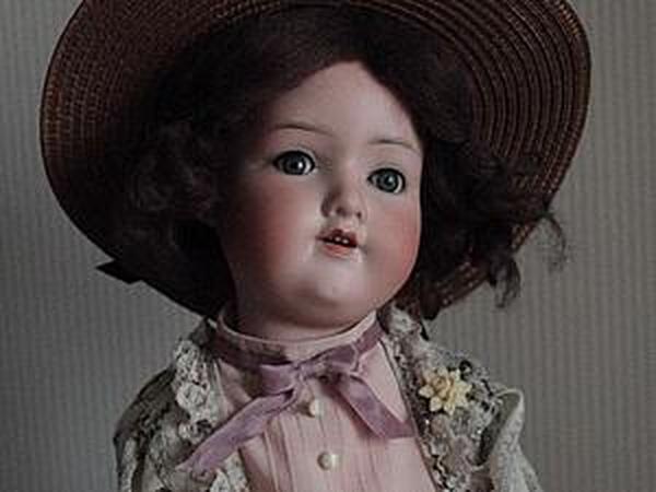 Соломенная шляпка прекрасной эпохи для куклы своими руками   Ярмарка Мастеров - ручная работа, handmade