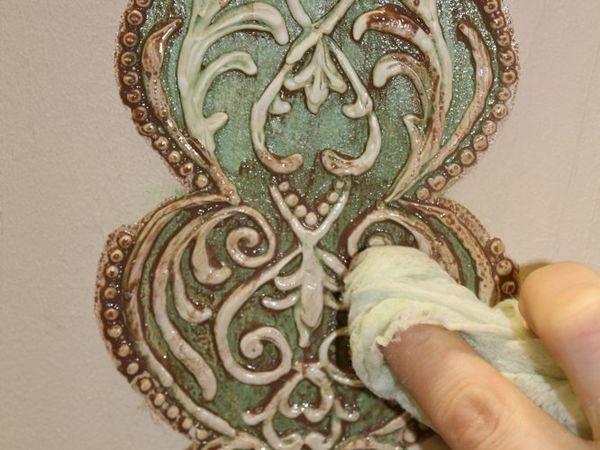 Декорируем полку из старых досок | Ярмарка Мастеров - ручная работа, handmade