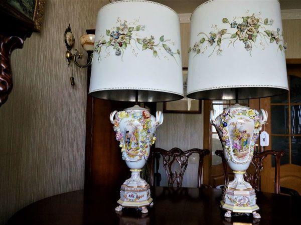 Антикварные лампы Carl Thime Дрезден 1872 год | Ярмарка Мастеров - ручная работа, handmade