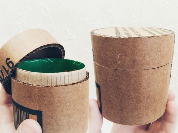 Мастерим круглую коробку из картона | Ярмарка Мастеров - ручная работа, handmade