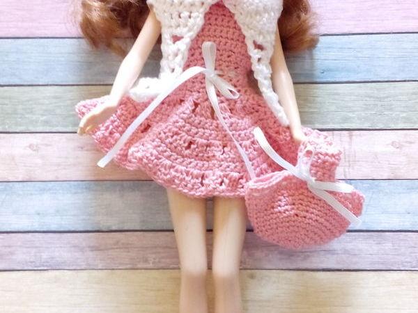 Комплект одежды для куклы Барби  «Розовая мечта» | Ярмарка Мастеров - ручная работа, handmade