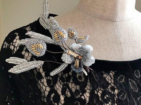 Волшебные букеты цветов люневильским крючком от мастера May Lilyq   Ярмарка Мастеров - ручная работа, handmade