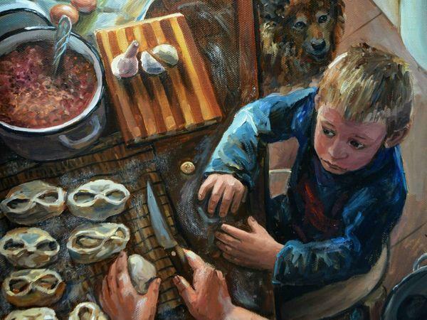 Деревенские мотивы в творчестве художника Таси (Настасьи) Чудаковой | Ярмарка Мастеров - ручная работа, handmade