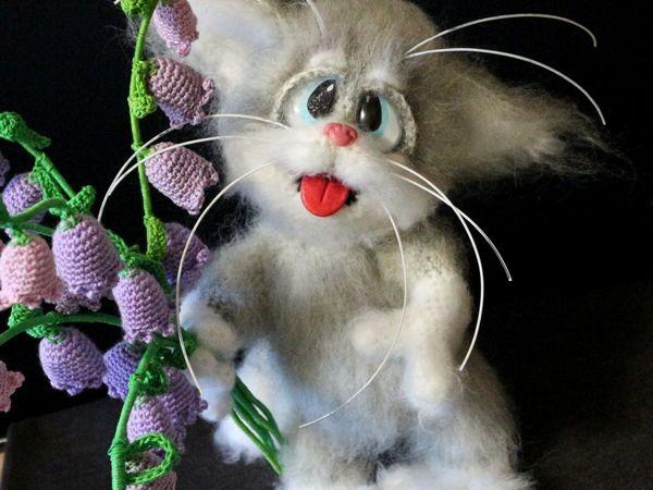 Мастер-класс: котик Мура крючком | Ярмарка Мастеров - ручная работа, handmade