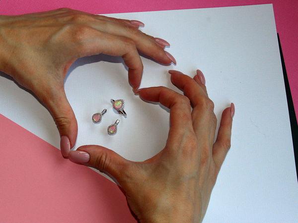 Видео комплекта с опалом Zillara Jewel | Ярмарка Мастеров - ручная работа, handmade
