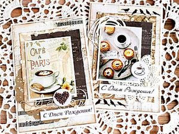 Небольшой мастер-класс по созданию ароматной открытки   Ярмарка Мастеров - ручная работа, handmade