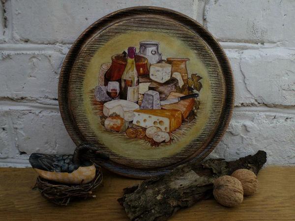 Мастер-класс по декору сырной доски | Ярмарка Мастеров - ручная работа, handmade