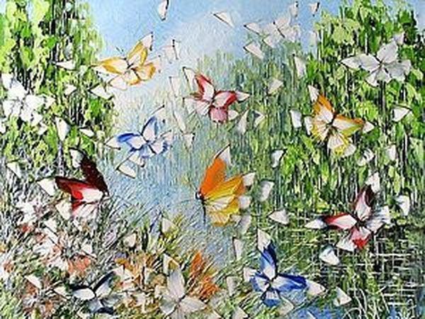 Волшебные бабочки Дмитрия Кустановича   Ярмарка Мастеров - ручная работа, handmade