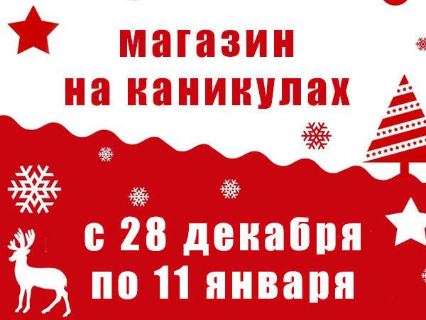 Магазин на каникулах с 28 декабря по 11 января | Ярмарка Мастеров - ручная работа, handmade