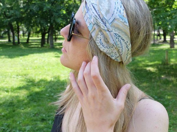 Шьем повязку на голову | Ярмарка Мастеров - ручная работа, handmade