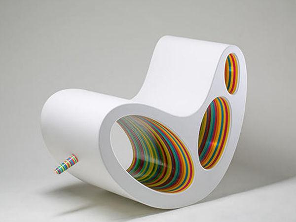 Изящные изгибы мебели: удивительные работы зарубежных дизайнеров. Часть 2   Ярмарка Мастеров - ручная работа, handmade