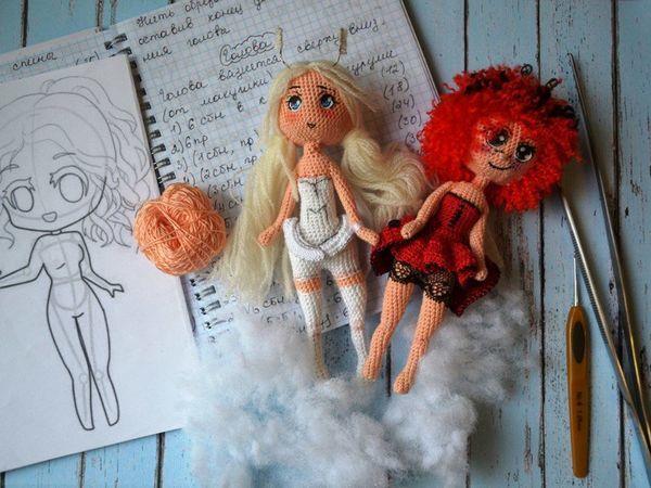 Вяжем куколку-чиби Букашку. Часть 1 | Ярмарка Мастеров - ручная работа, handmade
