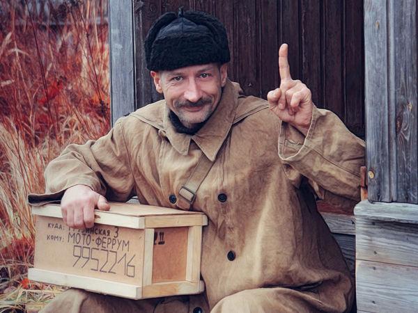Он надел пальто и моментально перевоплотился: петербуржец сделал шикарный косплей на почтальона Печкина | Ярмарка Мастеров - ручная работа, handmade