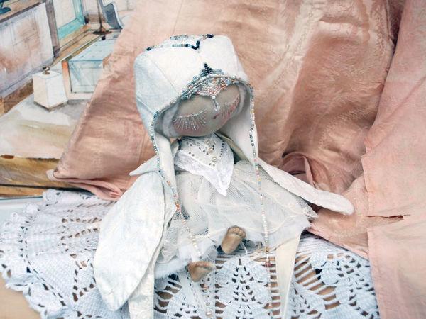 Завершение образа: мастер-класс по созданию текстильной куклы. Часть 3   Ярмарка Мастеров - ручная работа, handmade