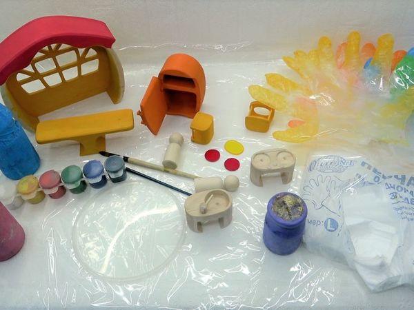 Как покрасить деревянную игрушку. Советы для начинающих | Ярмарка Мастеров - ручная работа, handmade