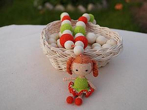 Мастер-класс: вязаная куколка для слингобус | Ярмарка Мастеров - ручная работа, handmade