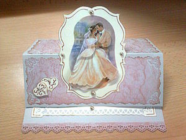 Свадебная открытка | Ярмарка Мастеров - ручная работа, handmade