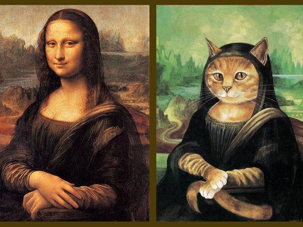 Мона Киса или Мона Лиза? Давайте разбираться...   Ярмарка Мастеров - ручная работа, handmade