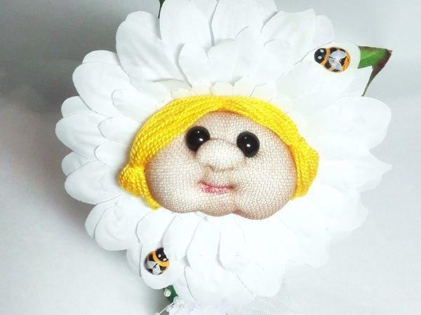Создаем забавный цветочек из капрона. Часть 2 | Ярмарка Мастеров - ручная работа, handmade
