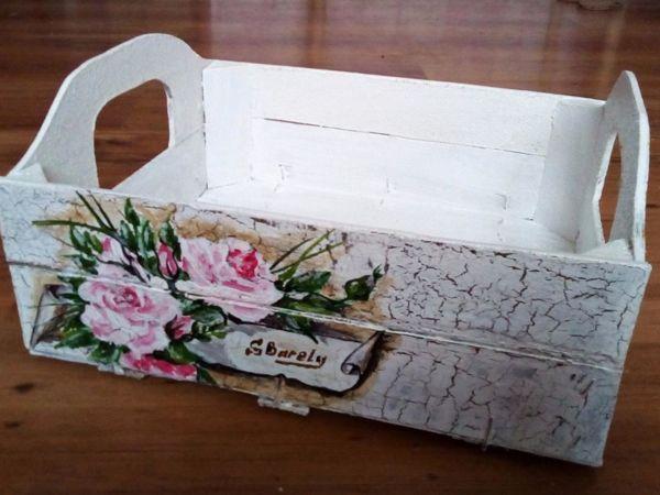 Декорируем хозяйственный ящик | Ярмарка Мастеров - ручная работа, handmade
