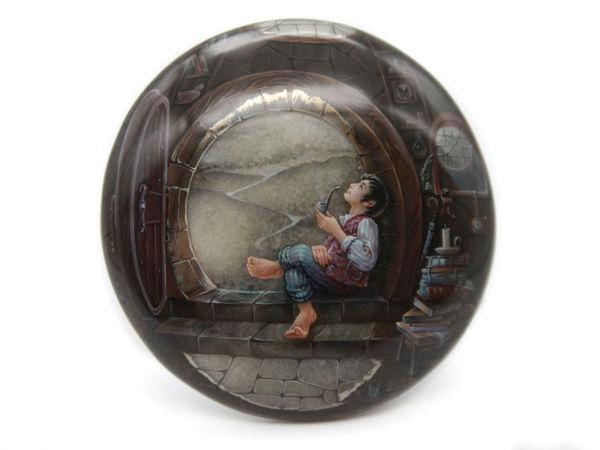 Аукцион: Хоббит на симбирците | Ярмарка Мастеров - ручная работа, handmade