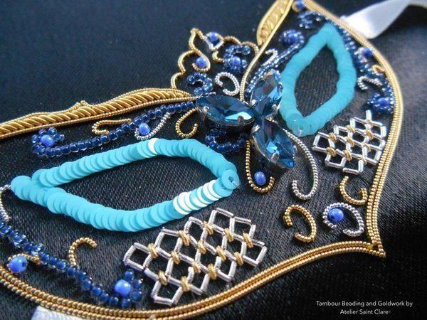 Изысканные образцы вышивки от ателье Saint Clare | Ярмарка Мастеров - ручная работа, handmade