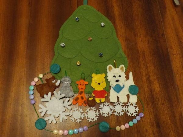 Новогодняя елочка, я тебя сошью! | Ярмарка Мастеров - ручная работа, handmade
