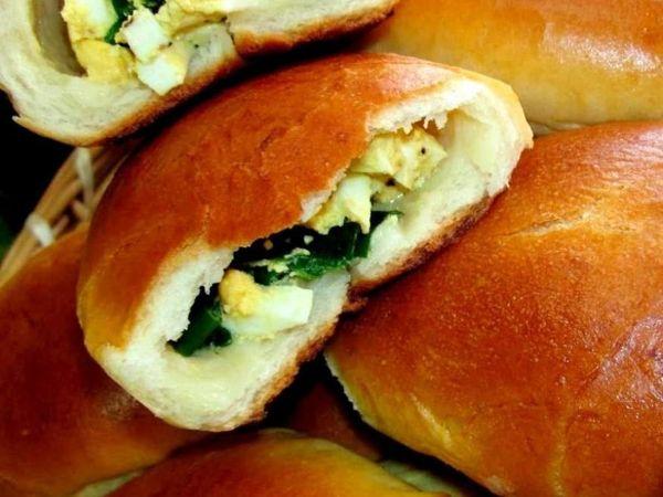 Пирожки жаренные с зеленым луком и яйцом. Как Вам такое ?   Ярмарка Мастеров - ручная работа, handmade