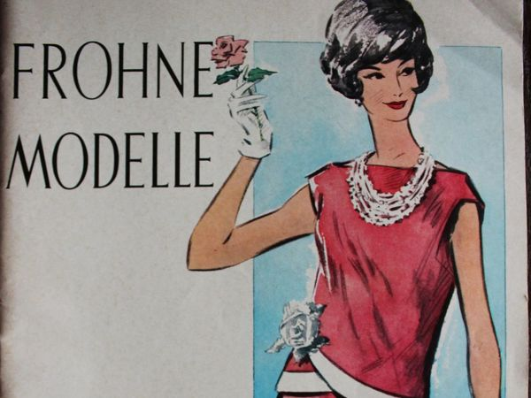 Frohne Modelle — старый  журнал мод -Весна- Лето 1962- Редкость   Ярмарка Мастеров - ручная работа, handmade