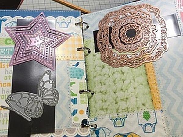 Делаем папку-хранитель ножей для вырубки: утилизируем остатки скрап-бумаги | Ярмарка Мастеров - ручная работа, handmade