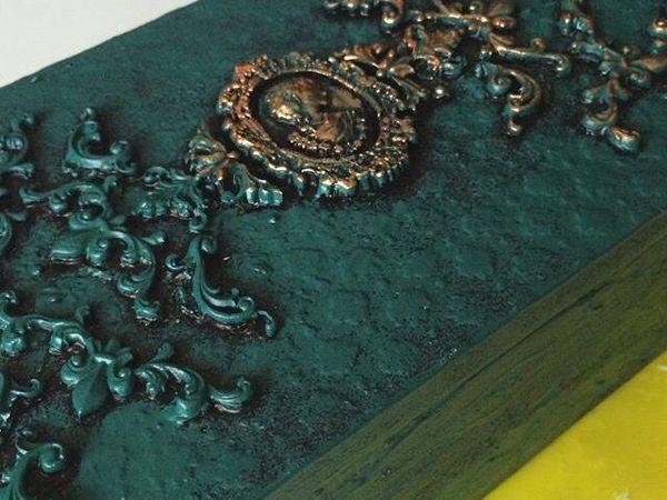 Мастерим шкатулку из коробки своими руками | Ярмарка Мастеров - ручная работа, handmade