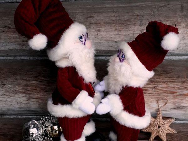 Шьем Санта Клауса | Ярмарка Мастеров - ручная работа, handmade